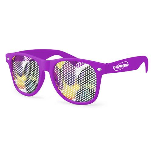 Pinhole Wayfarer Sunglasses Image 2