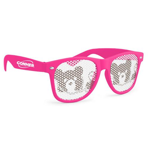 Pinhole Wayfarer Sunglasses Image 3