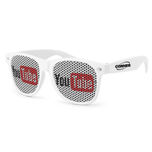 Pinhole Wayfarer Sunglasses Image 4