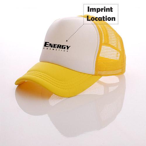 Summer Mesh Trucker Cap Imprint Image