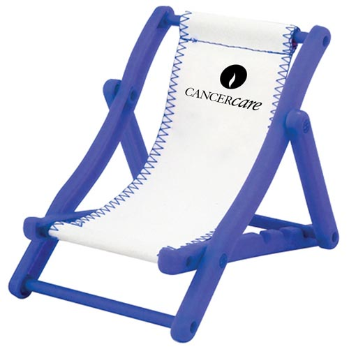 Beach Chair Cell Phone Holder Image 1