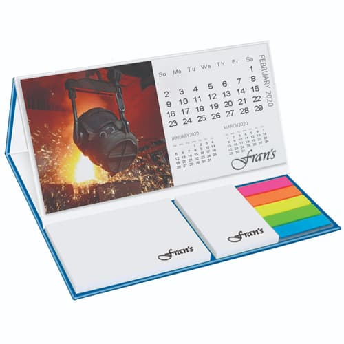 Promotional Calendar Pod With Sticky Notes