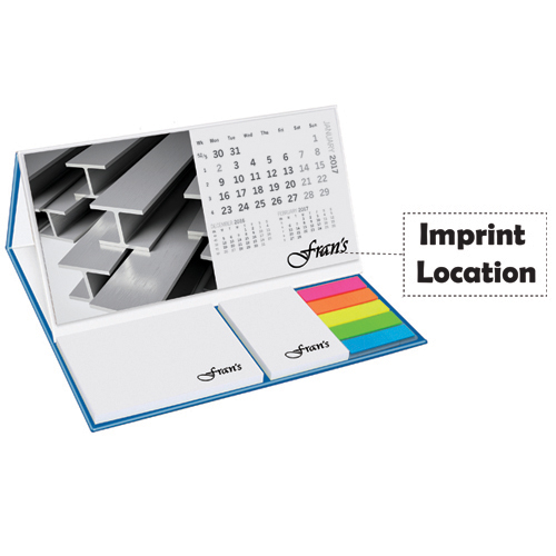 Promotional Calendar Pod With Sticky Notes Imprint Image