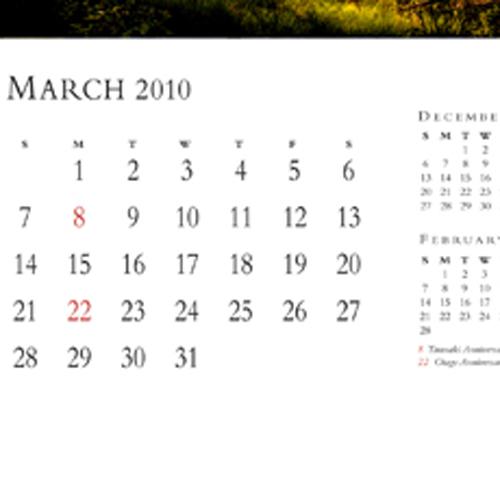Economy Wall Smart Calendar Image 3