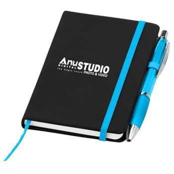 Curvy Pen Noir Notebook