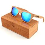 النظارات الشمسية الخشب الرقائقي خمر