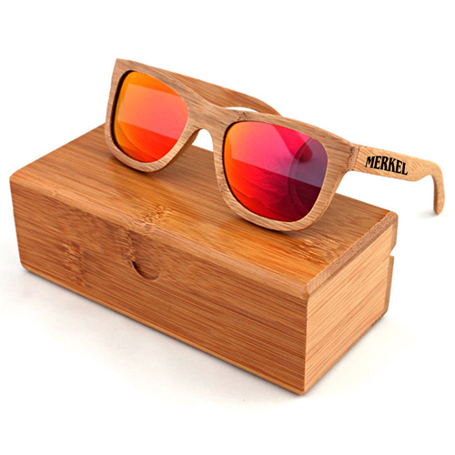 Laminated wood Vintage Sunglasses Image 1
