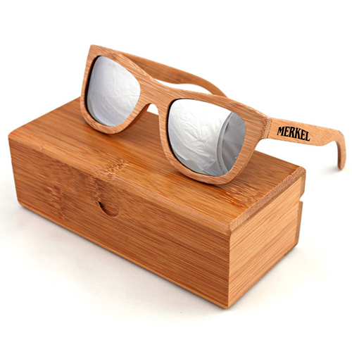 Laminated wood Vintage Sunglasses Image 2