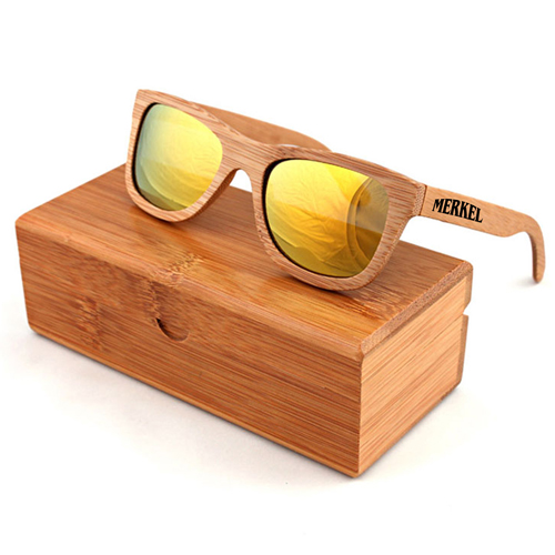 Laminated wood Vintage Sunglasses Image 3