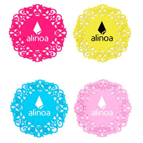 Lace Silicone Coaster Insulation Pad