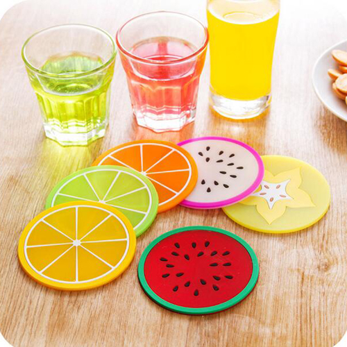 Fruit Design 6 Piece Drink Coaster