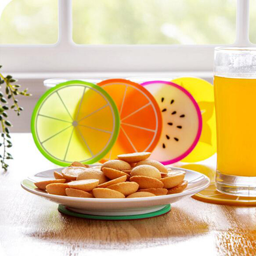 Fruit Design 6 Piece Drink Coaster Image 1