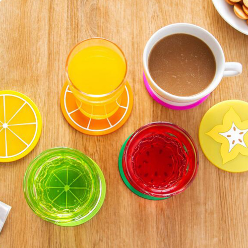 Fruit Design 6 Piece Drink Coaster Image 4