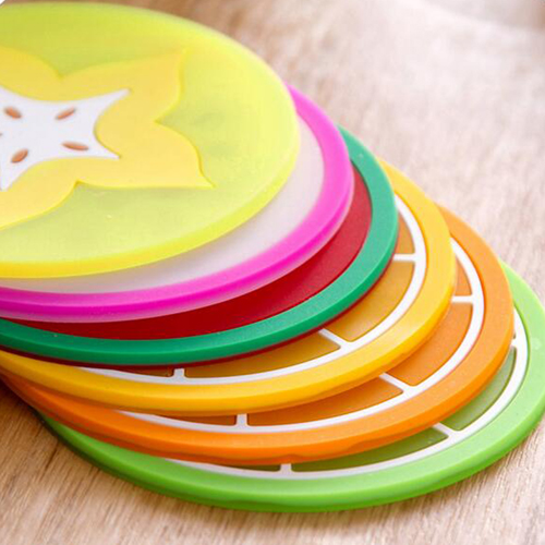 Fruit Design 6 Piece Drink Coaster Image 5