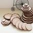 Wood Slice 6 Coasters