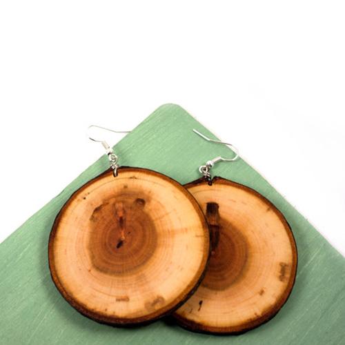 Wood Slice 6 Coasters Image 4
