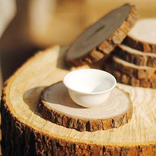 Wood Slice 6 Coasters Image 5