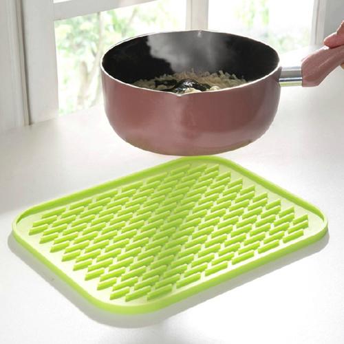 Rectangle Silicone Insulation Coasters