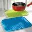 Rectangle Silicone Insulation Coasters Image 1