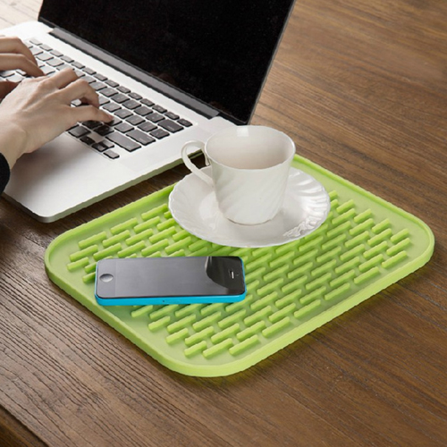 Rectangle Silicone Insulation Coasters Image 2