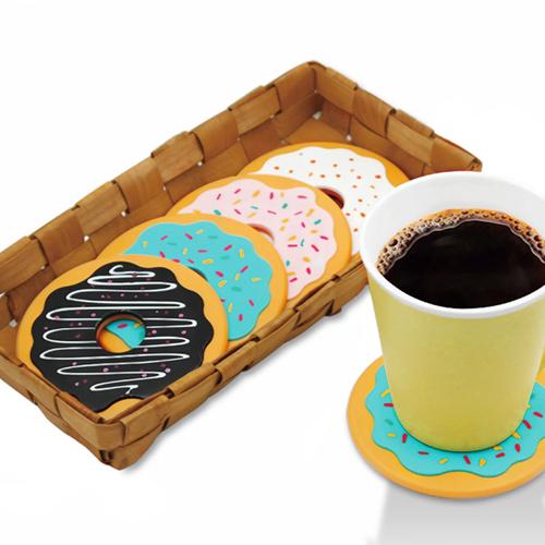 Round Donut Shaped Coaster
