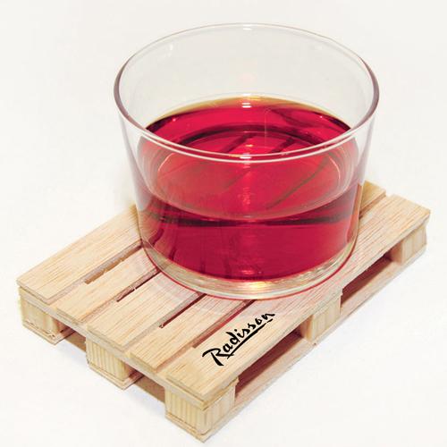 Miniature Pallet Wood Coasters