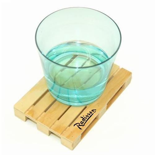 Miniature Pallet Wood Coasters Image 1