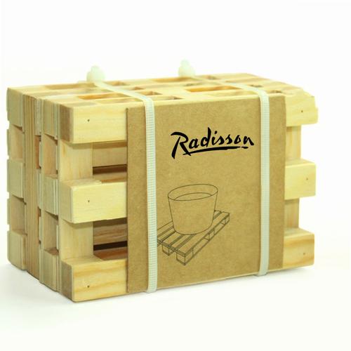 Miniature Pallet Wood Coasters Image 2