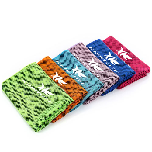 Reusable Heat Relief Ice Towel Image 1