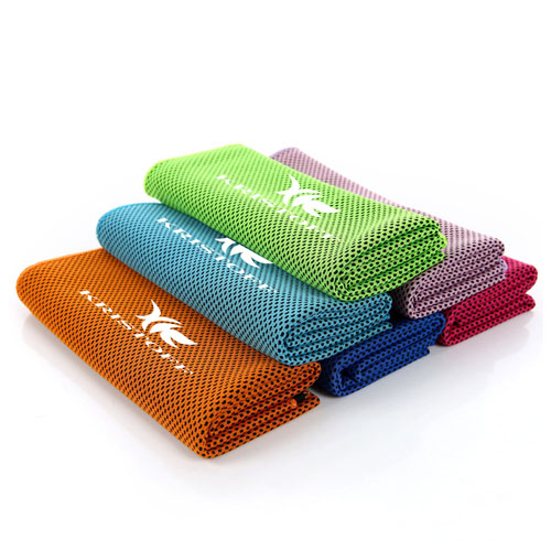 Reusable Heat Relief Ice Towel Image 2