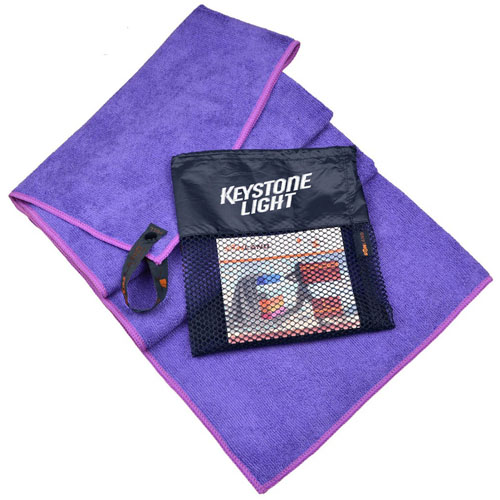 Ultra Absorbent Towel with Breathable Bag