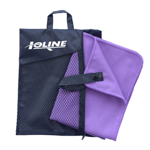 Microfiber Quick Drying Body Bath Towel with Carrying Bag Image 3