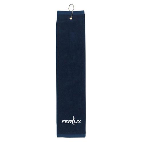Tri Fold Towel for Golf Image 1