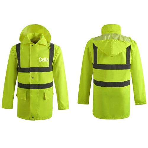 High Visibility Waterproof Rain Wear Image 2