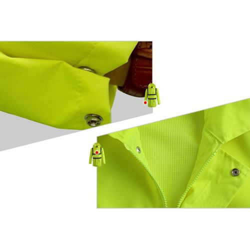 High Visibility Waterproof Rain Wear Image 4