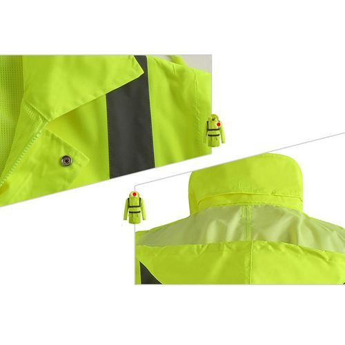 High Visibility Waterproof Rain Wear Image 5