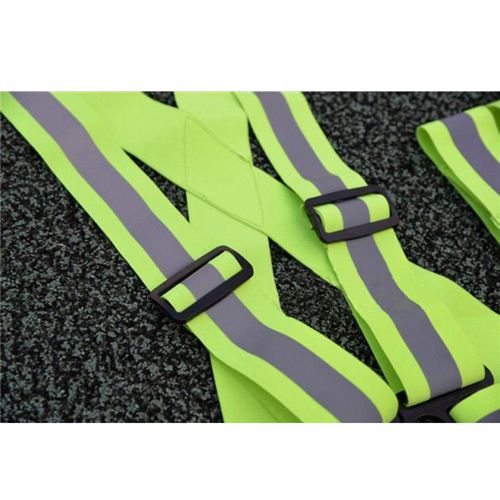 Wide Elastic Reflective Vest Image 4