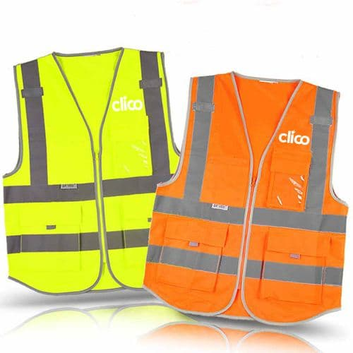 Dark Night Working Reflective Safety Vest
