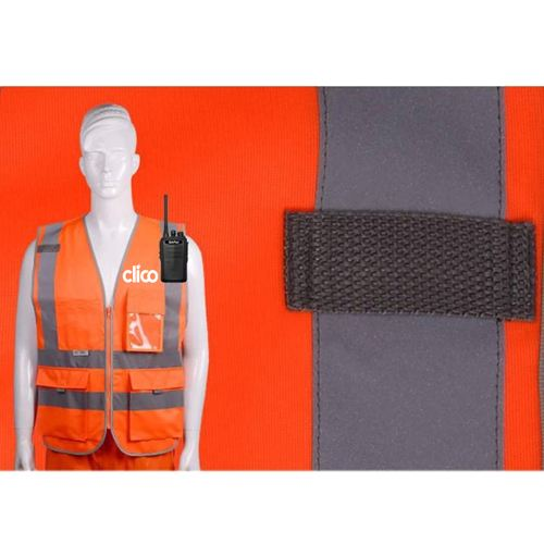 Dark Night Working Reflective Safety Vest Image 3