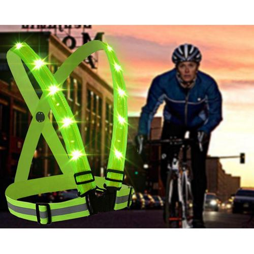 USB Charging LED Reflective Vest