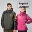 Two Piece Waterproof Outdoor Jacket Imprint Image