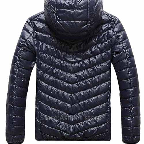Fashionable Lightweight Windproof Men Coat Image 2