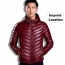Fashionable Lightweight Windproof Men Coat Imprint Image
