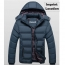 Plus Size Slim Fit Teenager Coats Imprint Image
