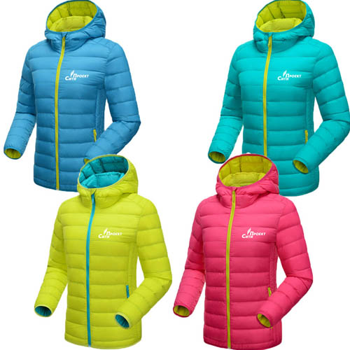 Ultra Light Pocketable Women Jacket
