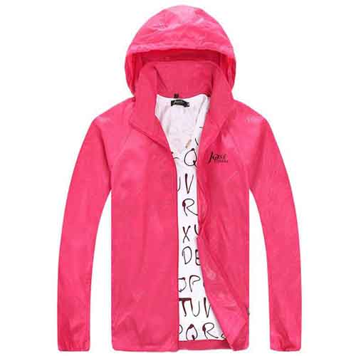 Spring Autumn Sports Hooded Jackets Image 3