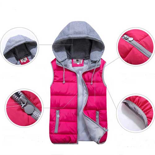 Womens Removable Hat Hooded Jacket Image 2