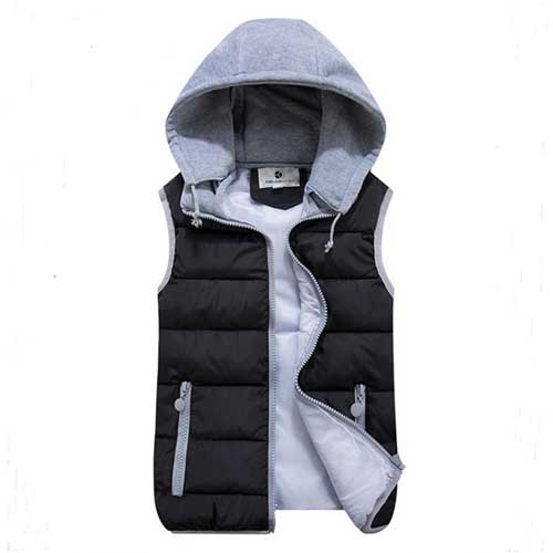 Womens Removable Hat Hooded Jacket Image 3