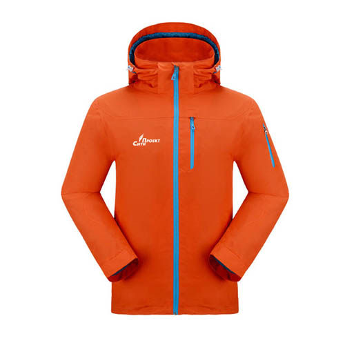 Hiking Climbing Softshell Jacket Image 1