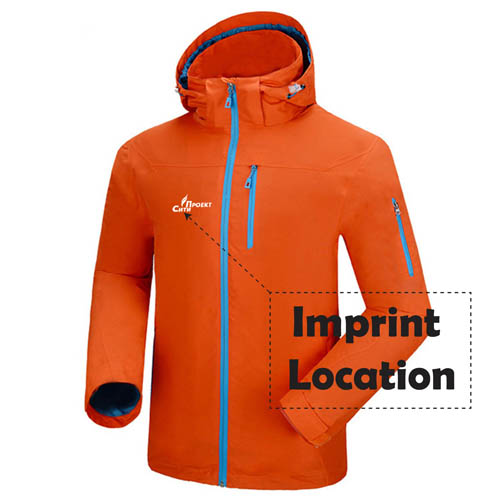 Hiking Climbing Softshell Jacket Imprint Image